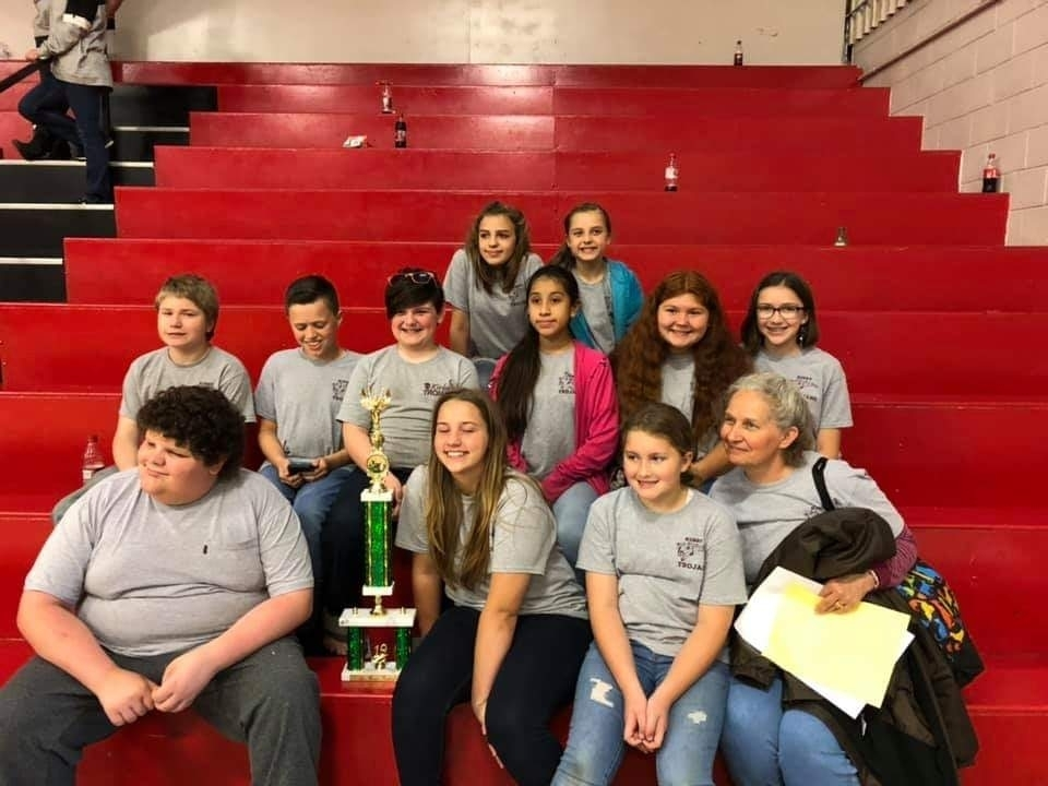 Kirby Elementary Choir earns 1st Place!!!