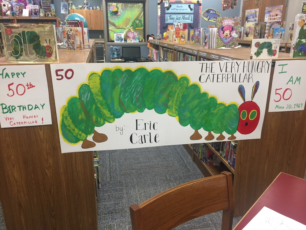 50th Birthday of The Very Hungry Caterpillar