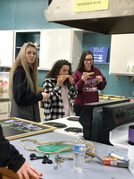 Diet and Nutrition class's Taste-Testing Fruit lab