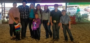 "Kirby FFA ""Shows Out"" at the Pike County Fair"