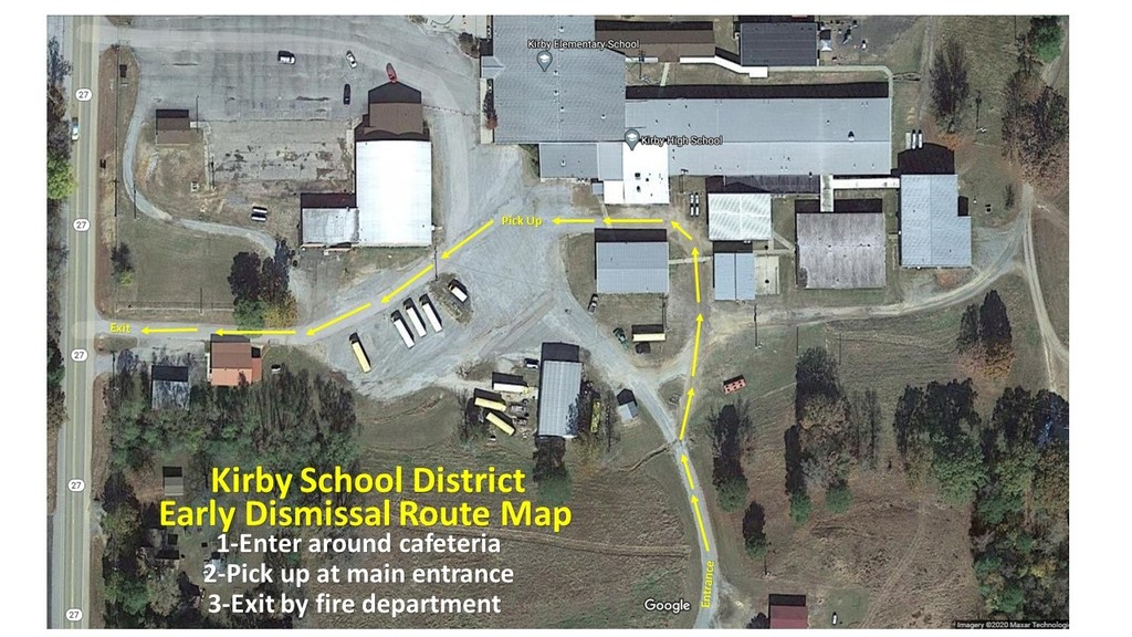 Early Release Map